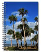 Group Of Palms Spiral Notebook