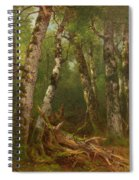 Group Of Trees Spiral Notebook