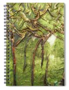 Grove Of Trees Spiral Notebook