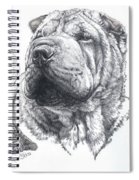 Growing Up Chinese Shar-pei Spiral Notebook
