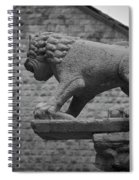 Growling At The Threat Spiral Notebook