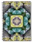 Grren Stones Spiral Notebook