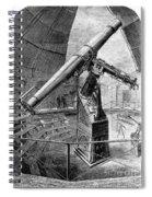 Grubb Refractor Telescope, Vienna, 1881 Spiral Notebook