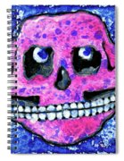 Grumbles The Discontent Purple Spiral Notebook