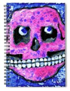 Grumbles, The Discontent Purple Spiral Notebook
