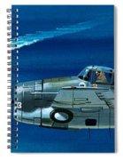Grumman F4rf-3 Wildcat Spiral Notebook