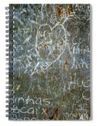 Grunge Background IIi Spiral Notebook
