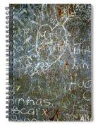 Grunge Background IIi Spiral Notebook