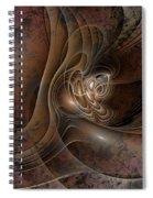 Grunge Spiral Notebook