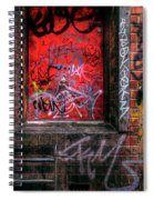 Grunge Junkies Unite Spiral Notebook