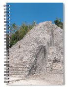 Grupo Nohoch Mul At The Coba Ruins  Spiral Notebook