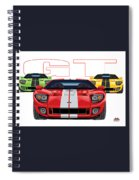 Gt Run Spiral Notebook