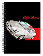Gtv Alfa Spiral Notebook