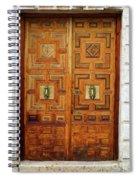 Guadalajara Door 1 Spiral Notebook