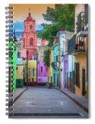 Guanajuato Backstreet Spiral Notebook