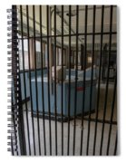 Guard Desk Inside Prison Cellblock Spiral Notebook