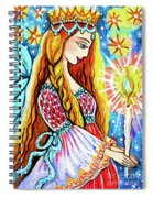Guardian Mother Of Life Spiral Notebook