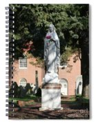 Guardian Of The Cemetery  Spiral Notebook