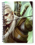 Guardians Of Middle-earth Spiral Notebook