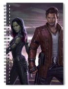 Guardians Of The Galaxy Vol. 2 Spiral Notebook