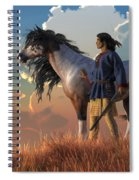 Guardians Of The Plains Spiral Notebook