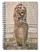 Guarding Savannah Spiral Notebook