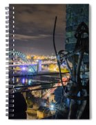 Guarding The City Spiral Notebook