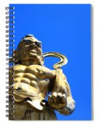 Guarding The Temple Spiral Notebook