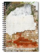 Guatemalan Ancient Wall Antigua Spiral Notebook