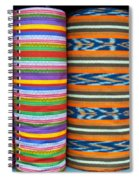 Guatemalan Woven Fabric Spiral Notebook