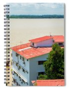 Guayaquil River View Spiral Notebook