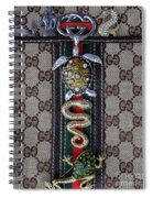 Gucci Monogram With Jewelry 3 Spiral Notebook