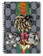 Gucci With Jewelry Spiral Notebook