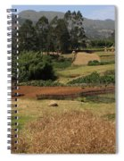 Guge Mountain Range Southern Ethiopia Spiral Notebook