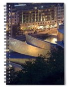 Guggenheim At Night Spiral Notebook