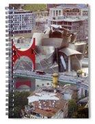 Guggenheim Bilbao Museum II Spiral Notebook