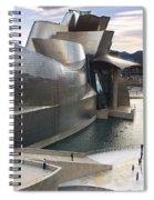 Guggenheim Bilbao Museum Spiral Notebook