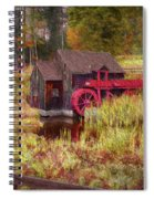 Guildhall Grist Mill In Fall Spiral Notebook