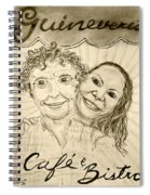 Guinevere's Cafe And Bistro Spiral Notebook