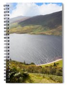 Guinness Lake In Wicklow Mountains  Ireland Spiral Notebook