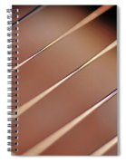Guitar Abstract 2 Spiral Notebook