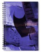 Guitar Art 001a Spiral Notebook