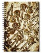 Guitar Echo Chamber Spiral Notebook