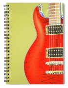 Guitar Pic Spiral Notebook