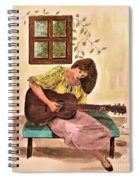 Guitar Player Spiral Notebook