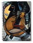 Guitarist Spiral Notebook