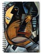 Guitarist Spiral Notebook