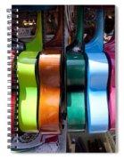 Guitars Spiral Notebook