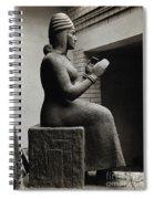 Gula, Mesopotamian Goddess Of Healing Spiral Notebook