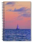 Gulf Coast Sailboat Spiral Notebook